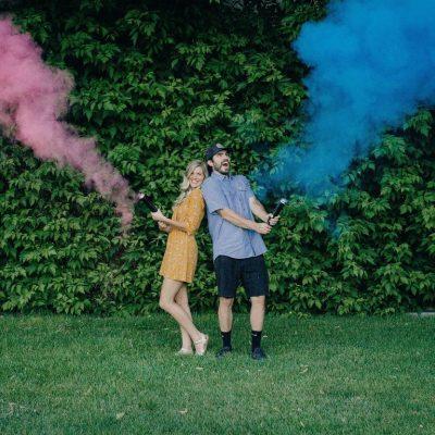 Gender Reveal Smoke