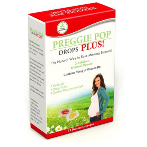 Preggie Pop Drops Plus 12 count