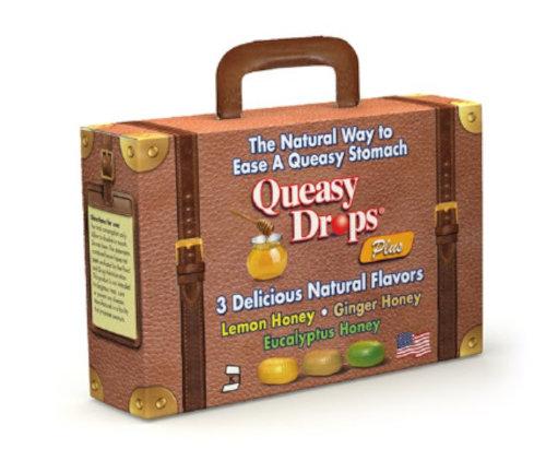 Queasy Drops Plus Suitcase